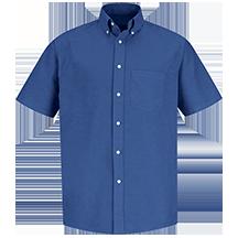 Short Sleeve Executive Oxford Dress Shirt