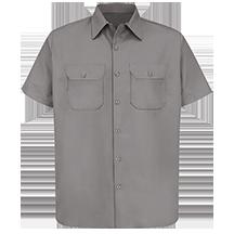 Short Sleeve Utility Uniform Shirt