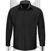 Men's Long Sleeve Performance Plus Shop Shirt with OilBlok Technology