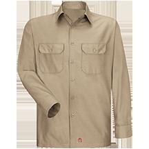 Long Sleeve Solid Rip Stop Shirt