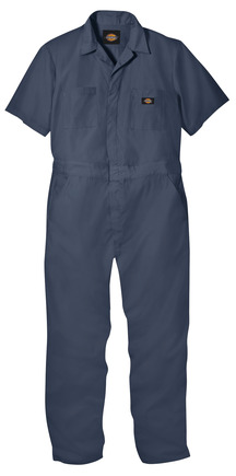 Industrial Short-Sleeve Coverall