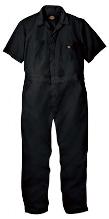 Product Shot - Industrial Short-Sleeve Coverall