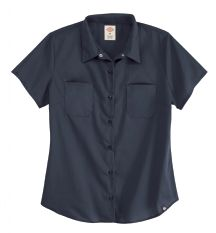 Product Shot - Women's Short-Sleeve Industrial Work Shirt