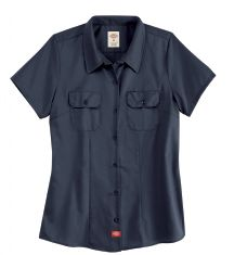 Product Shot - Women's Short-Sleeve Traditional Work Shirt