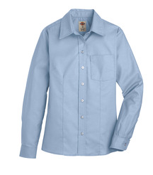 Product Shot - Women's Long-Sleeve Stretch Oxford Shirt