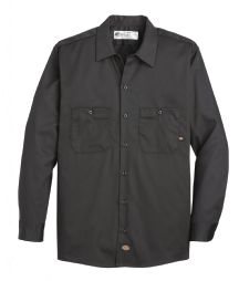 Product Shot - Men's Industrial Cotton Long-Sleeve Work Shirt