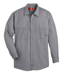 Product Shot - Men's Industrial Long-Sleeve Work Shirt