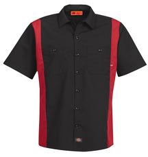 Women's Short-Sleeve Stretch Poplin Shirt