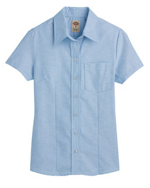 Product Shot - Women's Short-Sleeve Stretch Oxford Shirt