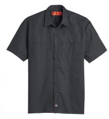 Men's Solid Ripstop Short-Sleeve Shirt