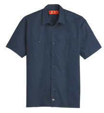 Product Shot - Men's Solid Ripstop Short-Sleeve Shirt