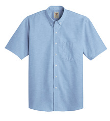 Product Shot - Men's Button-Down Oxford Short-Sleeve Shirt