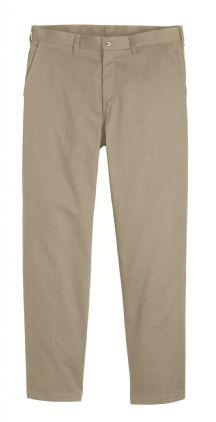 Men's Cotton Flat Front Casual Pant
