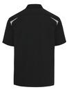 Black/Smoke - Men's Performance Short-Sleeve Team Shirt - Back