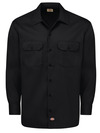 Men's Long-Sleeve Traditional Work Shirt - Front
