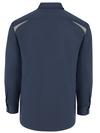 Dark Navy/Smoke - Men's Performance Long-Sleeve Team Shirt - Back