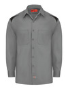 Men's Performance Long-Sleeve Team Shirt - Front