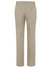 Desert Sand - Women's Premium Flat Front Pant - Back