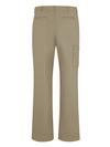 Khaki - Women's Premium Twill Cargo Pant Relaxed - Back