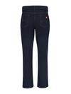 Indigo Blue - Women's Industrial 5-Pocket Slim Fit Jean - Back