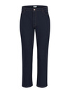 Indigo Blue - Women's Industrial 5-Pocket Slim Fit Jean - Front