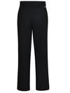 Black - Women's Premium Flat Front Pant (Plus) - Back