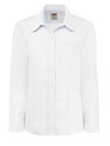 Women's Long-Sleeve Stretch Oxford Shirt - Front