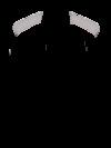 Men's Tricolor Long-Sleeve Shop Shirt - Front