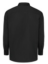 Black - Men's Solid Ripstop Long-Sleeve Shirt - Back
