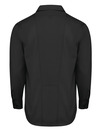 Black - Men's Industrial WorkTech Ventilated Long-Sleeve Work Shirt With Cooling Mesh - Back