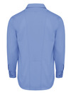 Light Blue - Men's Industrial WorkTech Ventilated Long-Sleeve Work Shirt With Cooling Mesh - Back