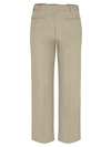 Desert Sand - Men's Industrial Flat Front Comfort Waist Pant - Back