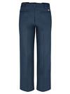 Dark Navy - Men's Industrial Flat Front Comfort Waist Pant - Back