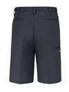 "Dark Charcoal - Men's Premium 11"" Industrial Multi-Use Pocket Short - Back"