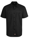 Men's Industrial WorkTech Ventilated Short-Sleeve Work Shirt With Cooling Mesh - Front