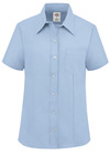 Women's Short-Sleeve Stretch Oxford Shirt - Front