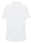 White - Women's Short-Sleeve Stretch Oxford Shirt - Back