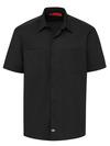 Men's Solid Ripstop Short-Sleeve Shirt - Front