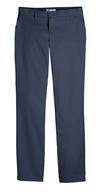 Dark Navy - Women's Premium Flat Front Pant - Front