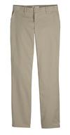 Desert Sand - Women's Premium Flat Front Pant - Front