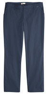 Dark Navy - Women's Premium Flat Front Pant (Plus) - Front