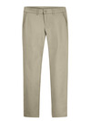 Desert Sand  - Women's Plus Traditional Stretch Twill Pants - Front