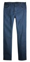 Rinsed Indigo Blue - Men's Industrial 5-Pocket FLEX Jean - Front