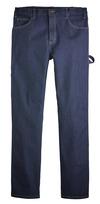 Rinsed Indigo Blue - Men's Industrial Carpenter FLEX Jean - Front