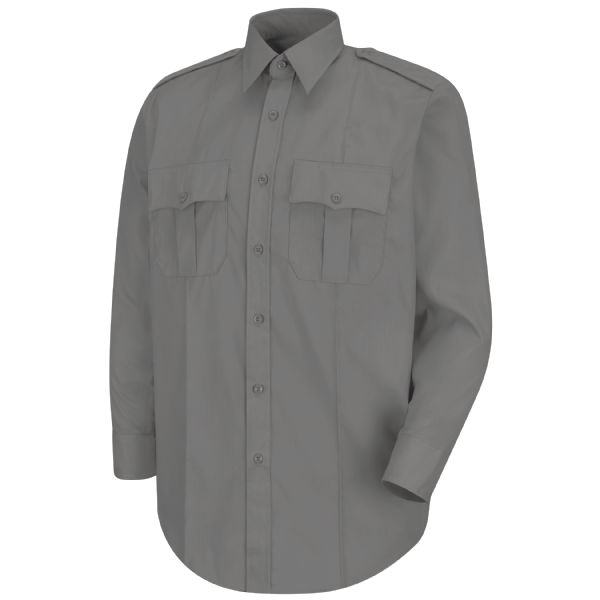 Product Shot - New Dimension® Poplin Long Sleeve Shirt