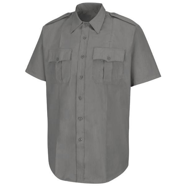 Product Shot - New Dimension® Poplin Short Sleeve Shirt