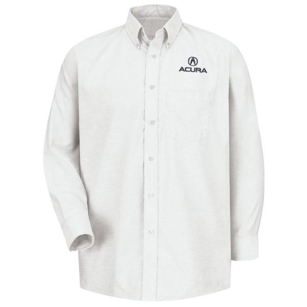 Acura® Men's Long Sleeve Executive Oxford Dress Shirt