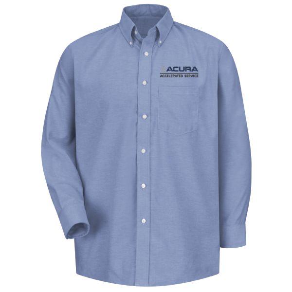 Acura® Accelerated Men's Long Sleeve Executive Oxford Dress Shirt