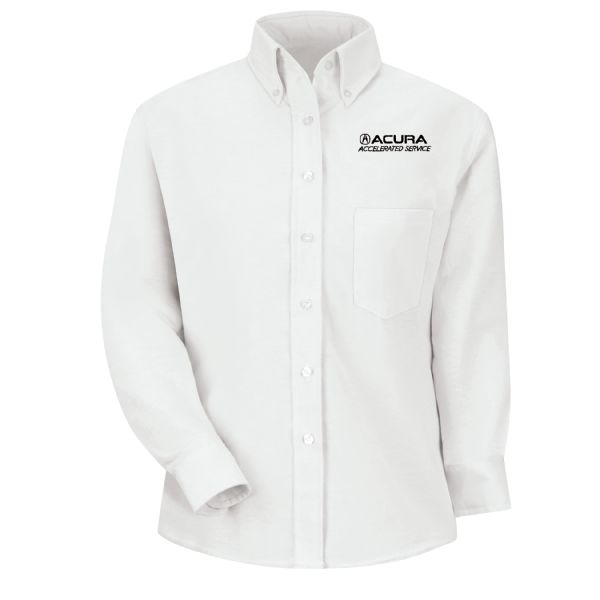 Acura® Accelerated Women's Long Sleeve Executive Oxford Dress Shirt