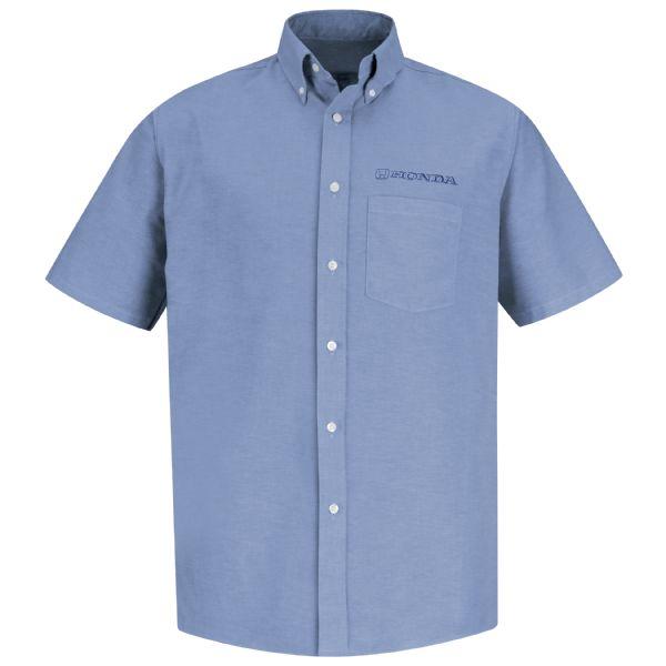 Honda® Men's Short Sleeve Executive Oxford Dress Shirt